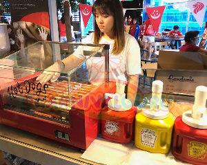 Hotdog live station