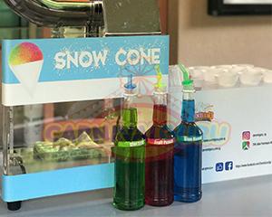 snow cone ice