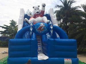 slide bouncy castle rental