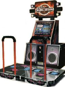 DDR arcade rental singapore