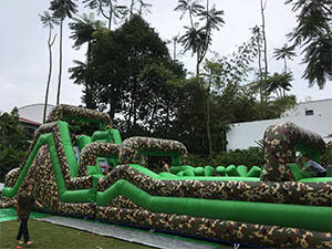 obstacle inflatable rental