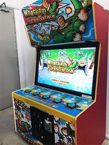 whack a croc arcade rental