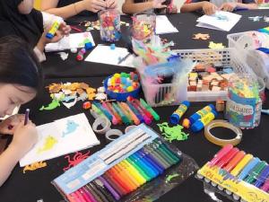 Kids Craft Station