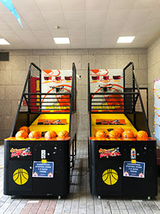 basketball machine rental