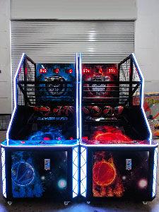 basketball arcade rental singapore