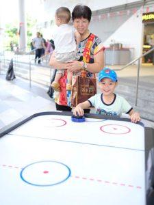 Air Hockey Game Rental Singapore