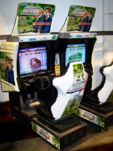Initial D arcade