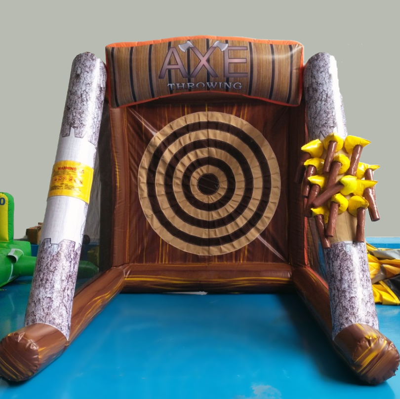 Cut Through The Boredom With Our Axe Throwing Inflatable