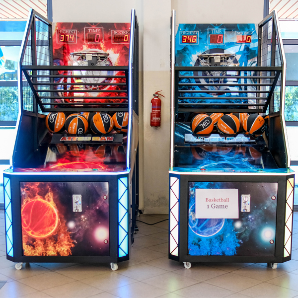 basketball arcade rental