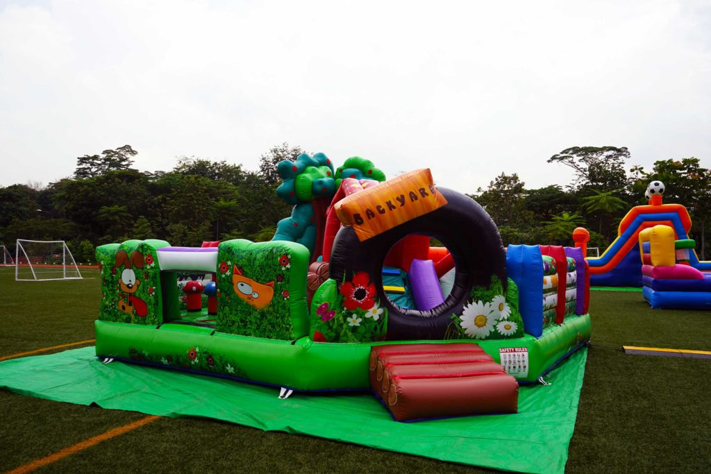 bouncing castle rental