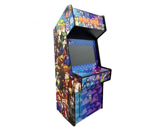 classic video arcade game