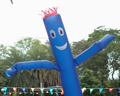 dancing tube
