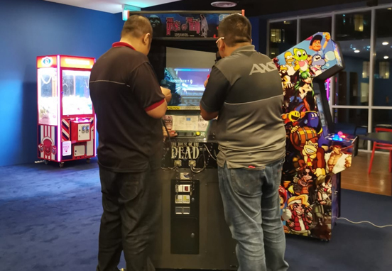 Arcade Rental for Arcade Gaming Week at AXS