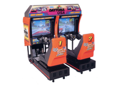 Daytona racing game arcade