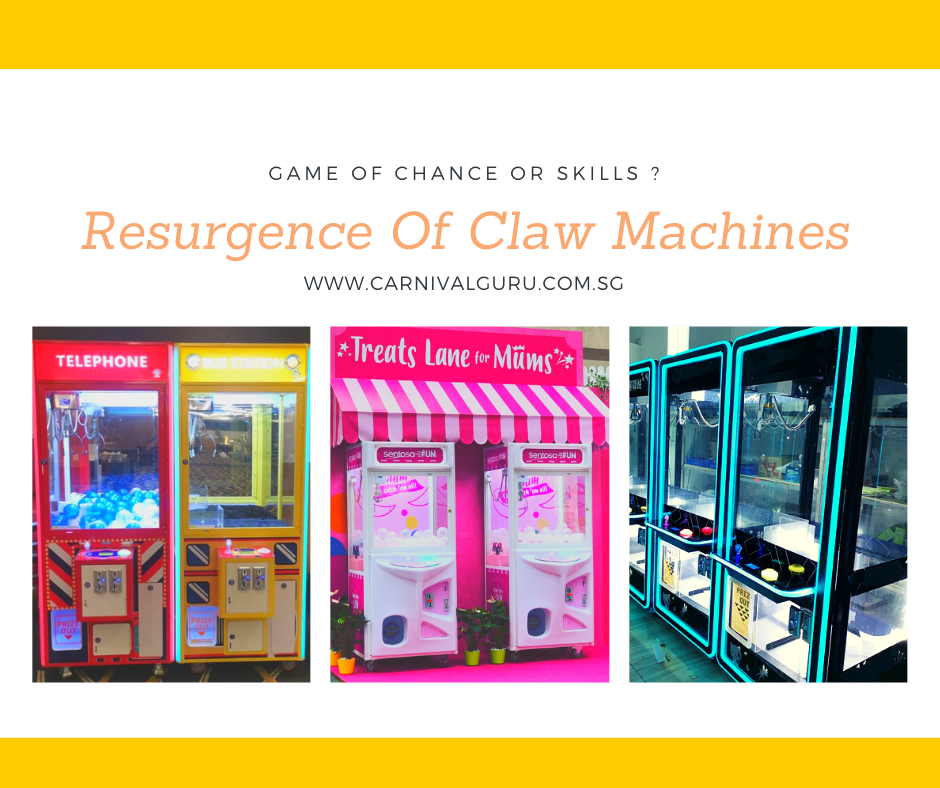 Resurgence Of Claw Machines