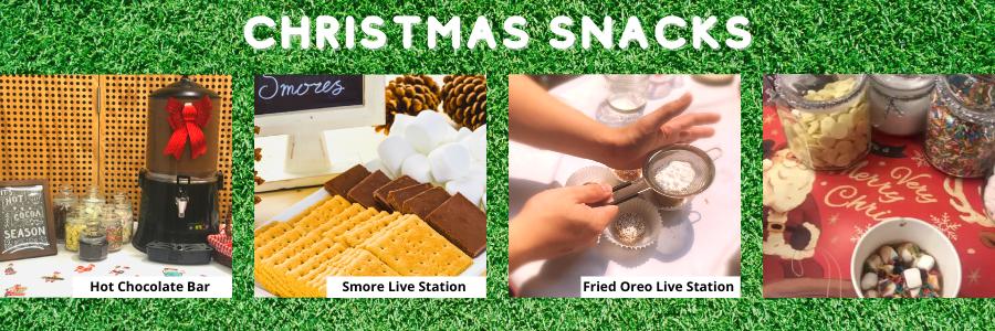 Christmas Carnival Snacks